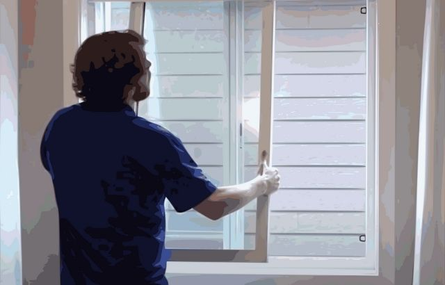 How to Clean the Leaded Glass Window