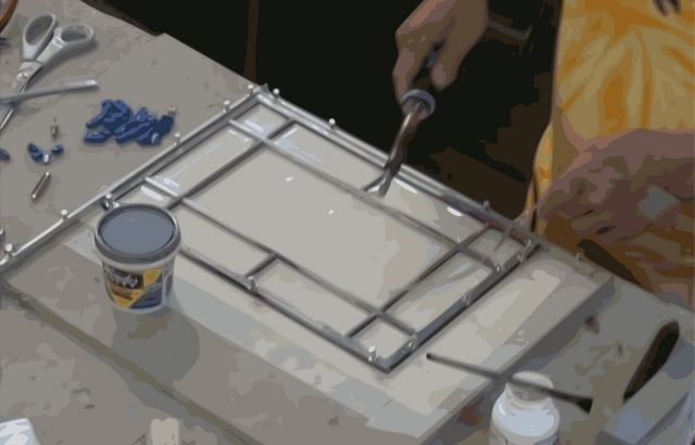 how to clean old glass windows