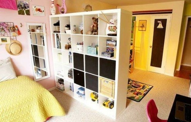 how to divide up a shared kid's room