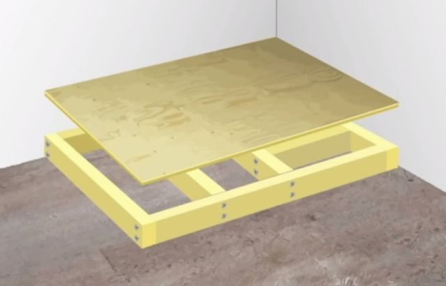 how to install a shower floor