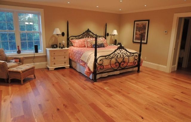 how to clean cherry wood floors