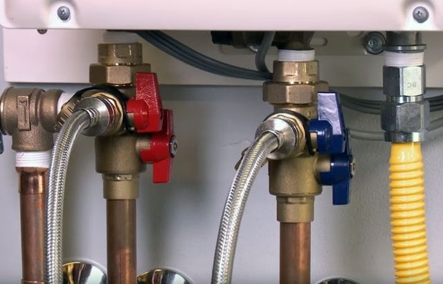 how to flush out tank less hot water heater