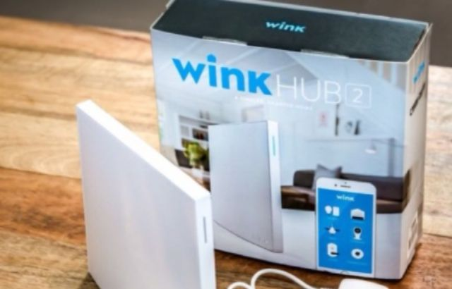Smart home devices wink hub