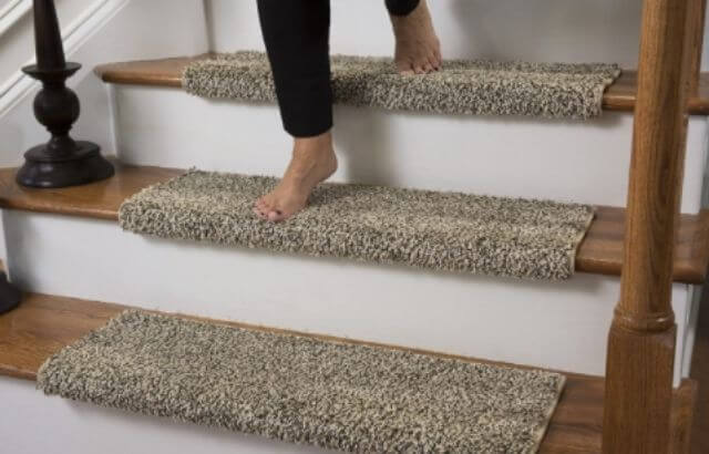 How to fix slippery outdoor stairs