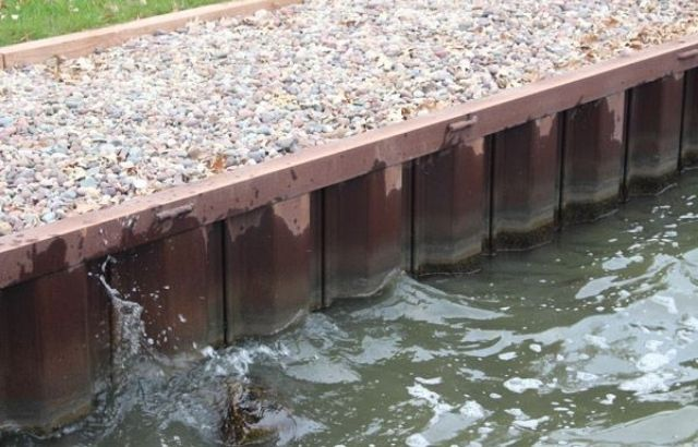 types of seawall construction