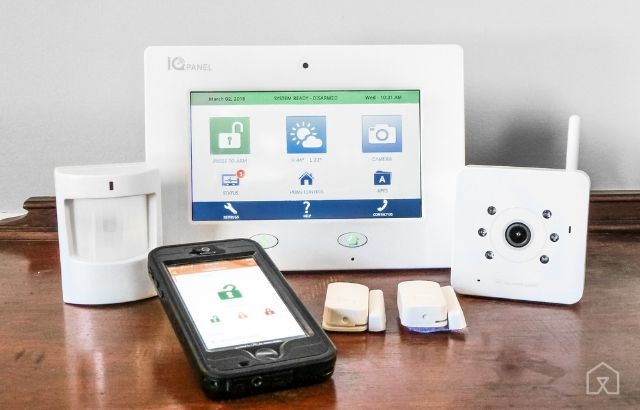 best unmonitored home security system