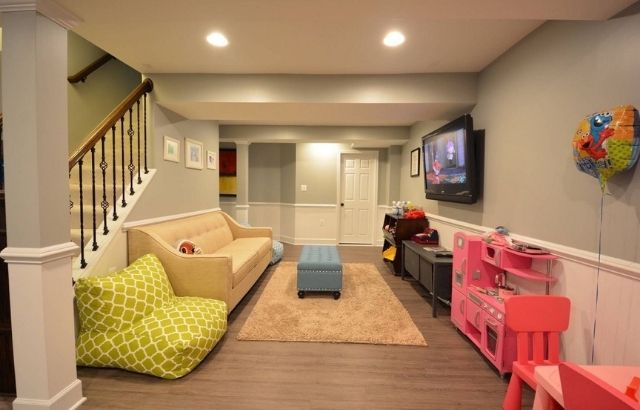 basement Playroom for the kids