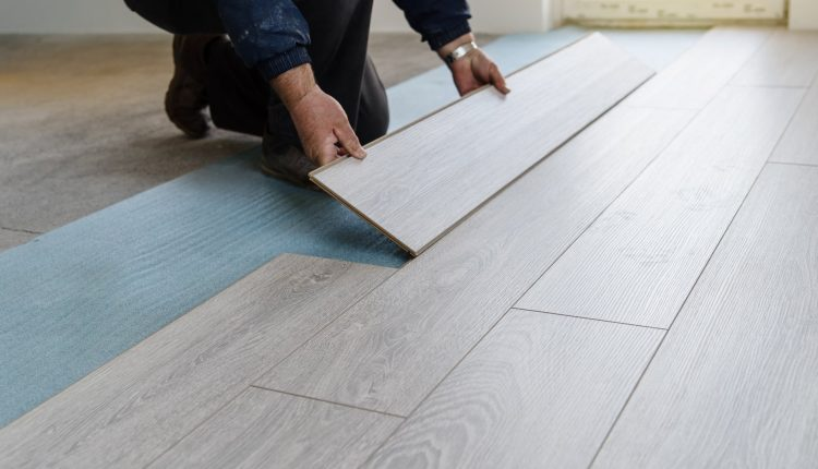 How to Install Temporary Flooring over Carpet Floor