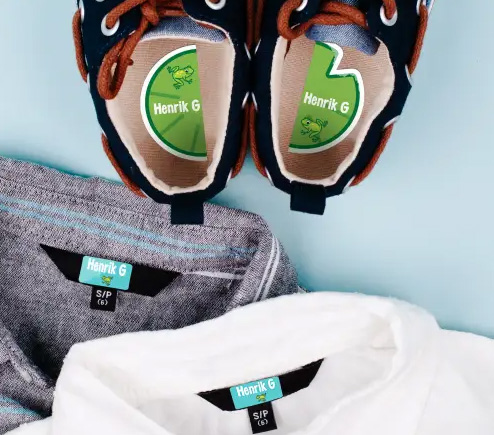 Ways to Label Clothes for Camp, College, or Assisted Living